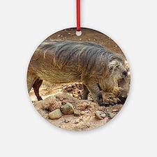 Unique Warthogs Round Ornament