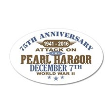 Pearl Harbor Anniversary Wall Decal