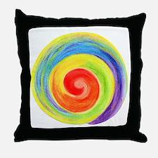 Reiki symbol no writing Throw Pillow