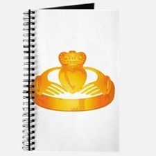 gold claddagh ring Journal