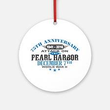 75th Anniversary attack on Pearl Harbor Round Orna
