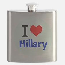 I love Hillary Flask