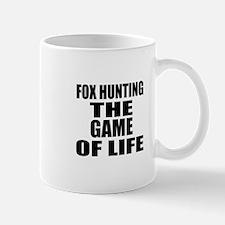 Fox Hunting The Game Of Life Mug