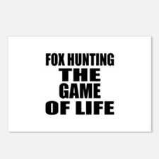 Fox Hunting The Game Of L Postcards (Package of 8)