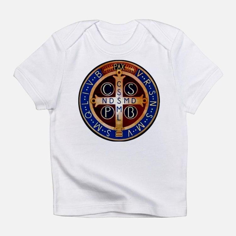Cute Saint benedict Infant T-Shirt