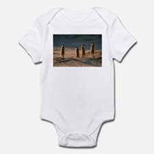 Family of meerkats Infant Bodysuit