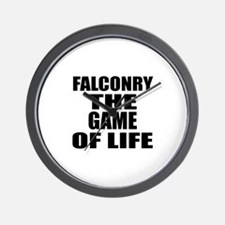 Falconry The Game Of Life Wall Clock