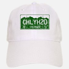 Chilly Water Colorado License Plate DISTRESSED Baseball Baseball Cap