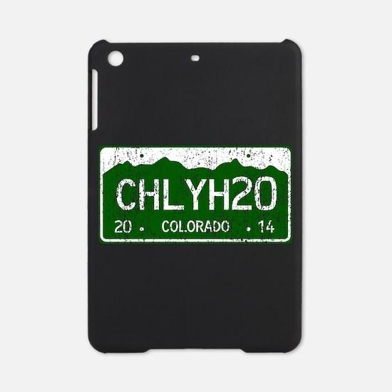 Chilly Water Colorado License Plate iPad Mini Case