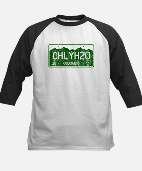 Chilly Water Colorado License Kids Baseball Jersey