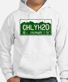 Chilly Water Colorado License Pl Hoodie