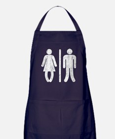 Bo Legged Woman DISTRESSED Apron (dark)