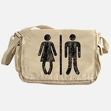 Bo Legged Woman DISTRESSED Messenger Bag