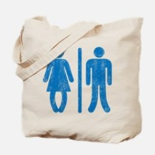 Bo Legged Woman DISTRESSED Tote Bag