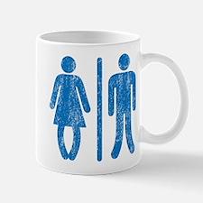 Bo Legged Woman DISTRESSED Mug