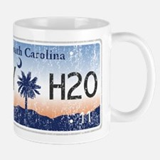 Chilly Water SC License Plate DISTRESSE Mug