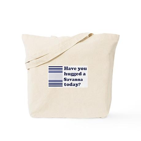 Hugged Savanna Tote Bag