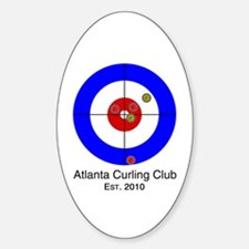 Cute The sport of curling Decal