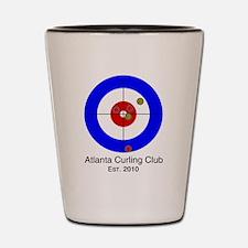 Unique The sport of curling. Shot Glass