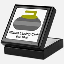 Cute Curling stone Keepsake Box