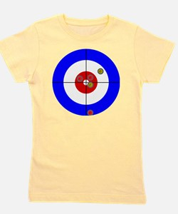 Funny Curling house Girl's Tee