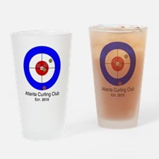 Unique Curling house Drinking Glass