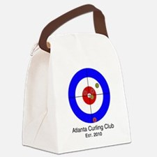 Unique Curling house Canvas Lunch Bag