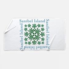 Sanibel Sea Turtle - Beach Towel