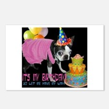 """IT""""S MY BIRTHDAY Postcards (Package of 8)"""