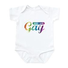 Gay Since 1978 Infant Bodysuit