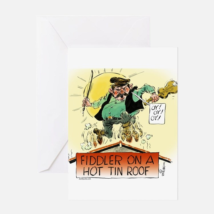 Fiddler Hot Tin Roof Greeting Cards