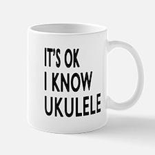 It Is Ok I Know Ukulele Mug