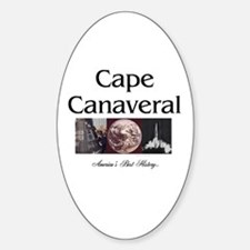 ABH Cape Canaveral Sticker (Oval)