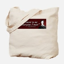 "Emily Dickinson ""Experiment"" Tote Bag"