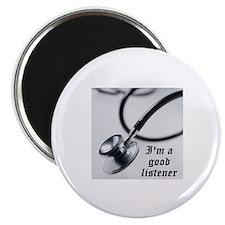 I'm a good listener Magnet