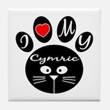 I love my Cymric Tile Coaster