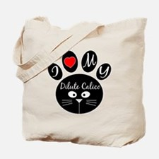 I love my Dilute Calico Tote Bag