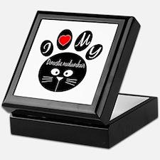 I love my Domestic mediumhair Keepsake Box