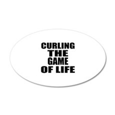 Curling The Game Of Life Wall Decal