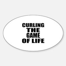 Curling The Game Of Life Decal