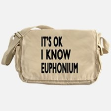 It Is Ok I Know Euphonium Messenger Bag