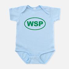 WSP Green Euro Oval Infant Bodysuit