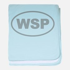 WSP Gary Euro Oval baby blanket