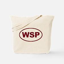 WSP Garnet Euro Oval Tote Bag