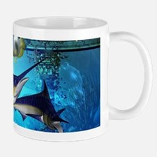 Awesome underwater world Mugs