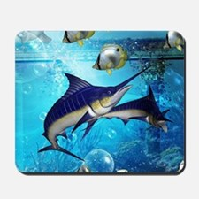 Awesome underwater world Mousepad