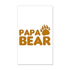 Papa Bear Wall Decal
