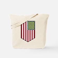 Unique American smiley face Tote Bag
