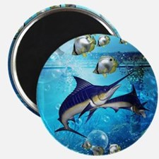 Awesome underwater world Magnets
