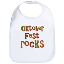 Oktoberfest Rocks Party Holid Bib